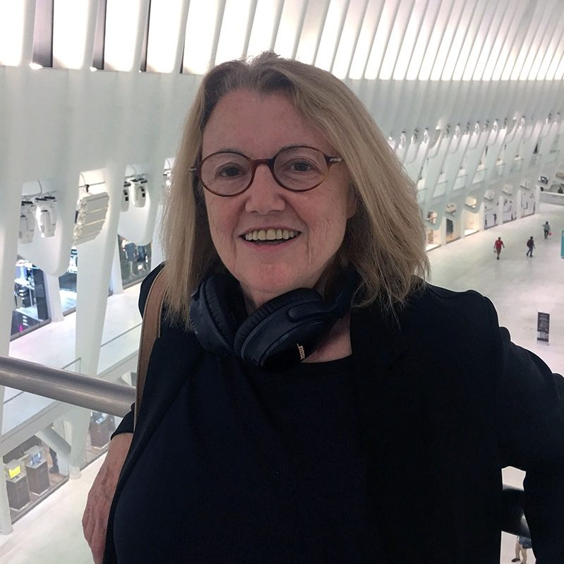 Anne Tardos contributor photo, inside oculus at world trade center in new york city